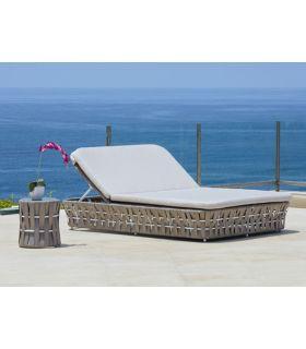 Comprar online Tumbona Doble de Terraza y Jardín : Colección STRIPS