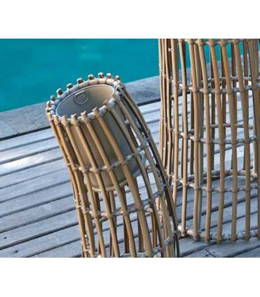 Maceteros de Diseño en Rattan : Modelo CICLON