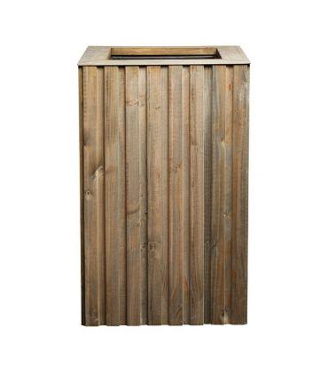 Macetero de madera de pino FOREST.