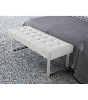 Banqueta descalzadora tapizada : Modelo TB0083