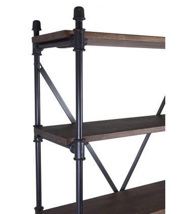 Mueble Librería de Estilo Industrial Coleccion PIPA