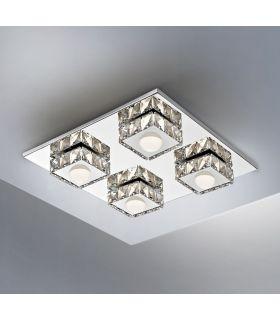 Comprar online Plafón Moderno de Techo Cuadrado con LED Colección SURIA II Schuller