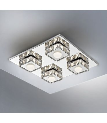 Plafón Cuadrado con Iluminación LED Colección SURIA II