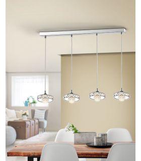 Comprar online Lámpara Lineal de 4 Colgantes LED Colección SURIA