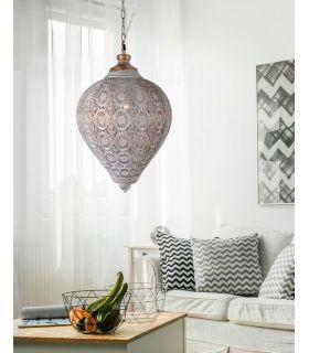 Lámpara Metálica de Estilo Étnico Modelo TEBAS