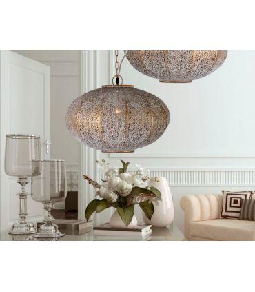 Lámpara Ovalada de Estilo Étnico Modelo INDIA 1 Luz