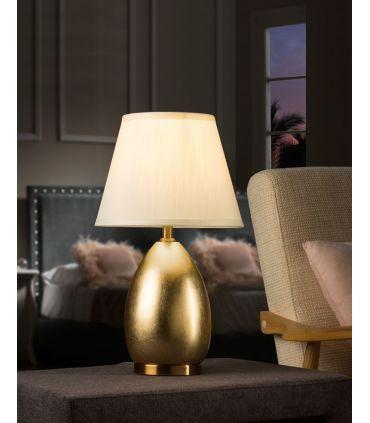 Lámpara de Sobremesa en Pan de Oro OVALIS