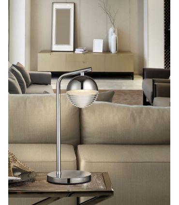 Lámpara de Mesa con Luz Led Colección FLAVIA