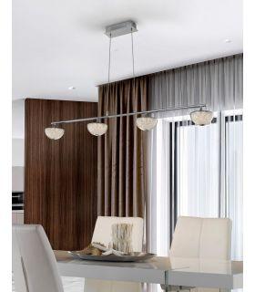 Lámpara LED Lineal de 4 Luces Colección LUA