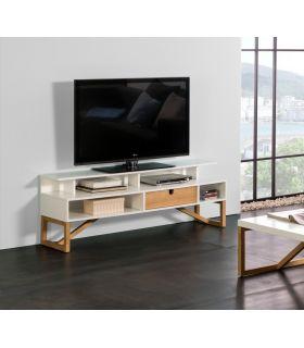 Comprar online Mesa de Televisión de Estilo Nórdico Modelo GALIA Blanco