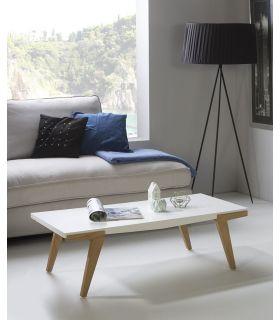 Comprar online Mesa de Centro Moderna en Madera MARTINA Blanco