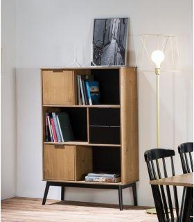 Comprar online Mueble Estantería en madera de Pino Colección LUCIE