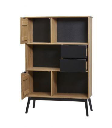 Mueble Estantería en madera de Pino Colección LUCIE