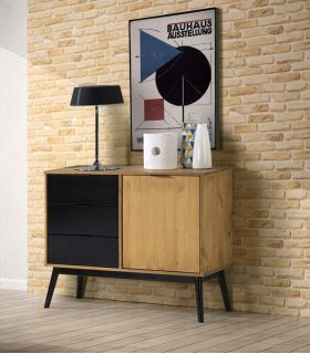 Mueble Buffet en madera de Pino Colección LUCIE