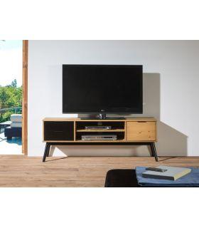 Comprar online Mesa de televisión en madera de Pino Colección LUCIE