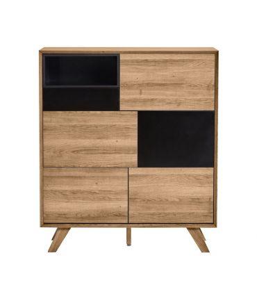 Mueble Taquillón en Madera Colección TIVOLI Negro