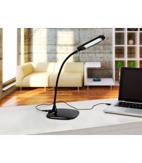 Comprar online Lámparas Sobremesa LED de Escritorio Modelo EYE negro