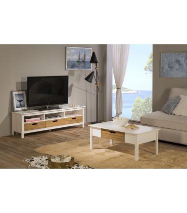Mueble de Televisión en Madera Colección IBIZA