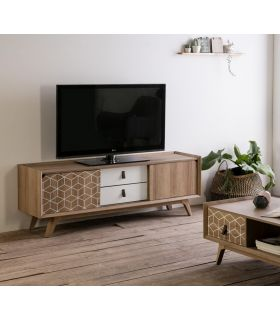 Comprar online Mesa de Televisión en Madera Colección JAVA