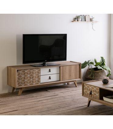 Mesa de Televisión en Madera Colección JAVA