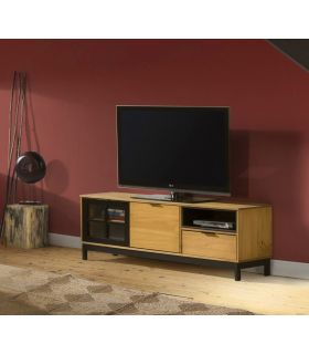 Comprar online Mueble de Televisión en madera de Pino Colección DENISE