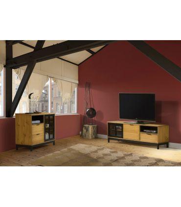 Mueble de Televisión en madera de Pino Colección DENISE