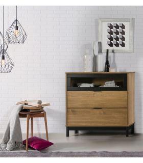 Comprar online Cómoda en madera de Pino Colección DENISE