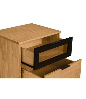 Cómoda en madera de Pino Colección DENISE