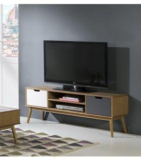 Comprar online Mueble de Televisión en madera de Pino Colección CUSCO