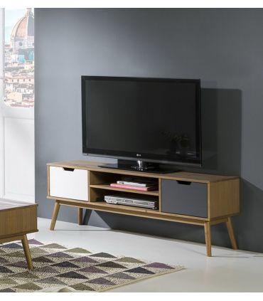 Mueble de Televisión en madera de Pino Colección CUSCO