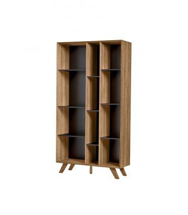 Estantería Librería de Madera Colección TIVOLI Negro