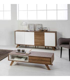 Comprar online Mueble Aparador en Madera Colección TIVOLI blanco roble