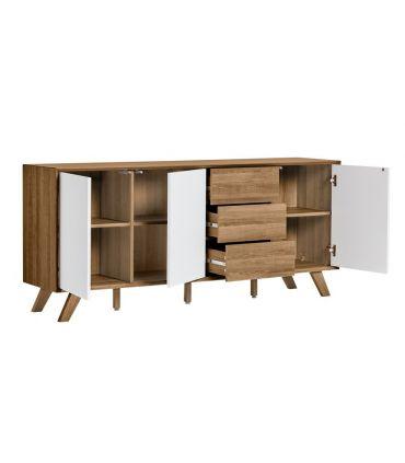 Mueble Aparador en Madera Colección TIVOLI blanco roble