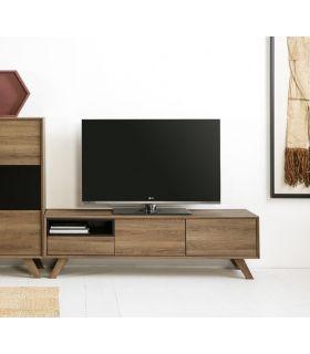 Mesa de Televisión en Madera Colección TIVOLI Negro