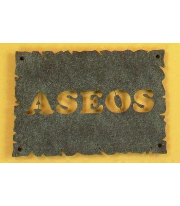 Placa de Forja Modelo ASEOS