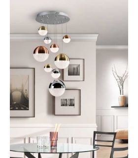 Comprar online Lámpara Moderna de 9 Luces Colección SPHERE