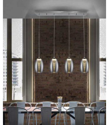 Lámpara Lineal para Mesas de Comedor Colección NEBULA