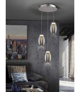 Comprar online Lámpara de Estilo Moderno NEBULA 3 Luces
