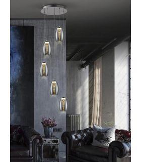 Comprar online Lámpara Colgante de 5 Luces LED Colección NEBULA