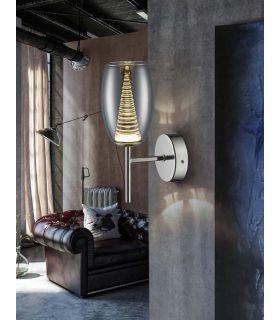 Aplique de Pared con luz LED Colección NEBULA