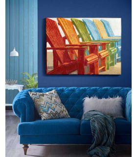Comprar online Cuadro Decorativo con Pinturas Acrílicas Modelo ESPLAI