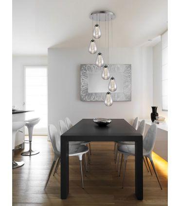 Lámpara Colgante de 5 Luces LED Colección TACCIA