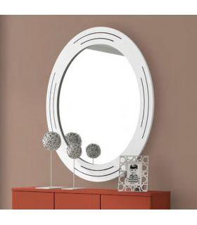 Comprar online Espejo Ovalado de estilo moderno modelo DONOSTI
