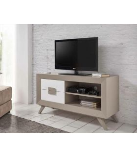 Mesa de TV Moderna en Madera lacada YOUNG