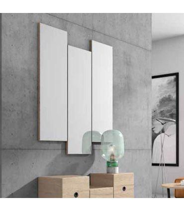 Espejo Moderno con Lunas de Espejo PARALEL