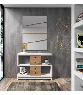 Comprar online Mueble Recibidor de 4 cajones LERIDA