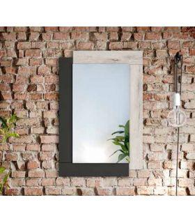 Comprar online Espejo Decorativo de madera LUGO