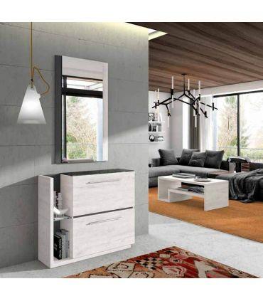 Mueble Auxiliar Zapatero en madera EXTREMADURA