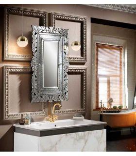 Espejo Veneciano con lunas talladas CLEOPATRA PQ Schuller