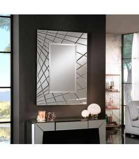 Espejo decorativo moderno Rectangular FUSION pq